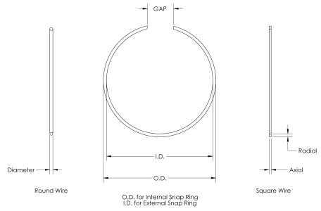 Snapring Diagram
